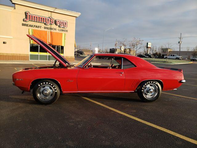 1969 Chevrolet CAMARO Z28 GARNET RED BLACK STRIPES