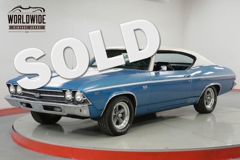 1969 Chevrolet CHEVELLE SS RESTORED 454 BIG BLOCK 4-SPEED 12 BOLT POSI  | Denver, CO | Worldwide Vintage Autos