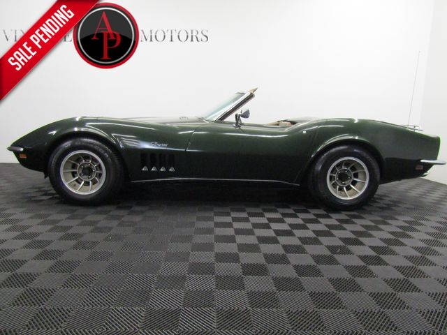 1969 Chevrolet Corvette 1 OWNER V8 AUTO