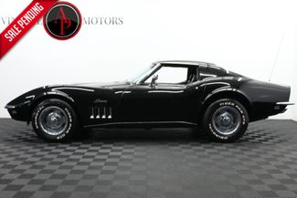 1969 Chevrolet CORVETTE JET BLACK V8 in Statesville, NC 28677