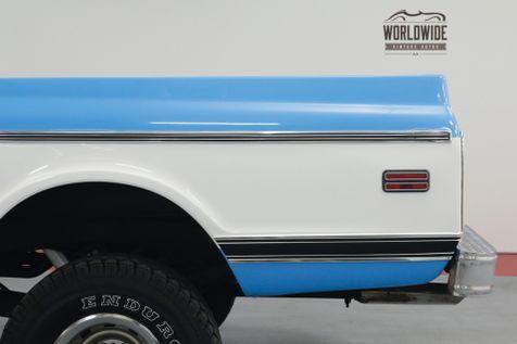 1969 Chevrolet  C10 / K10. 4x4. SUPER CHEYENNE. AUTO. PS PB! | Denver, CO | Worldwide Vintage Autos in Denver, CO