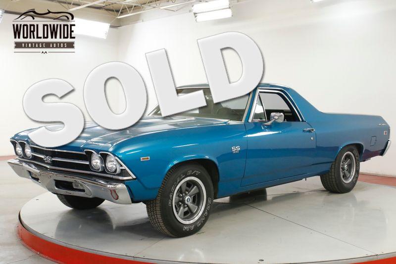 1969 Chevrolet EL CAMINO  SS BIG BLOCK 396 RESTOMOD PB PS DISC | Denver, CO | Worldwide Vintage Autos