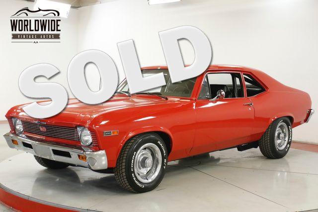 1969 Chevrolet NOVA SS BIG BLOCK AUTO BUCKET SEATS RALLYE WHEELS | Denver, CO | Worldwide Vintage Autos in Denver CO