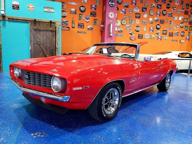 1969 Chevy CAMARO CONVERTIBLE BIG BLOCK DROPTOP