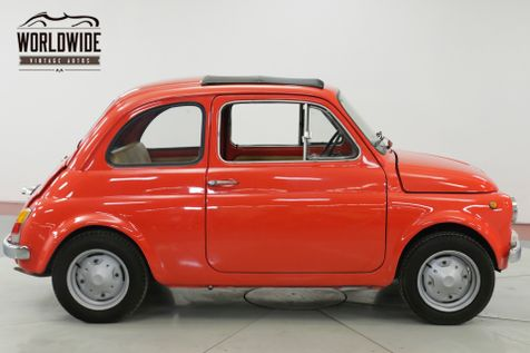1969 Fiat 500 ITALIAN MICROCAR RAGTOP SUNROOF 650CC 4SPD | Denver, CO | Worldwide Vintage Autos in Denver, CO