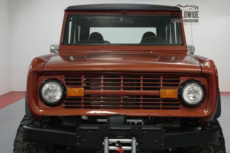 1969 Ford BRONCO FRAME OFF RESTORED. STROKER V8! 4X4! PS!    Denver, CO   Worldwide Vintage Autos in Denver, CO