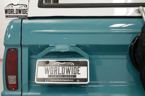 1969 Ford BRONCO RESTORED. UNCUT. V8! DISC. EXTRAS.   Denver, CO   Worldwide Vintage Autos in Denver, CO