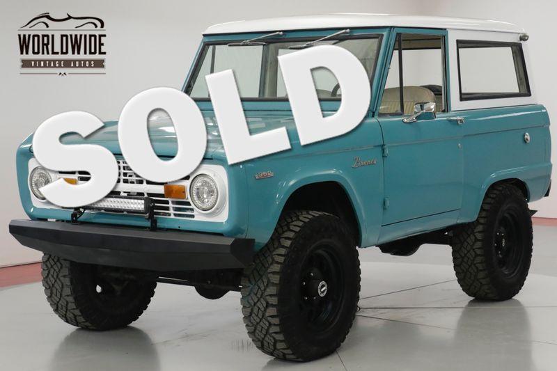 1969 Ford BRONCO RESTORED. UNCUT. V8! DISC. EXTRAS.   Denver, CO   Worldwide Vintage Autos