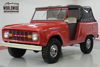 1969 Ford BRONCO UNCUT! 302 V8! SOFT TOP 4x4! RARE.    Denver, CO   Worldwide Vintage Autos in Denver CO