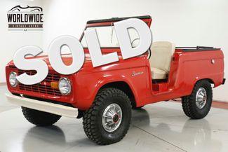 1969 Ford BRONCO UNCUT! 302 V8! SOFT TOP 4x4! RARE | Denver, CO | Worldwide Vintage Autos in Denver CO