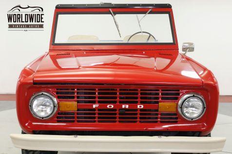 1969 Ford BRONCO UNCUT! 302 V8! SOFT TOP 4x4! RARE   Denver, CO   Worldwide Vintage Autos in Denver, CO