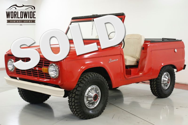 1969 Ford BRONCO UNCUT! 302 V8! SOFT TOP 4x4! RARE   Denver, CO   Worldwide Vintage Autos