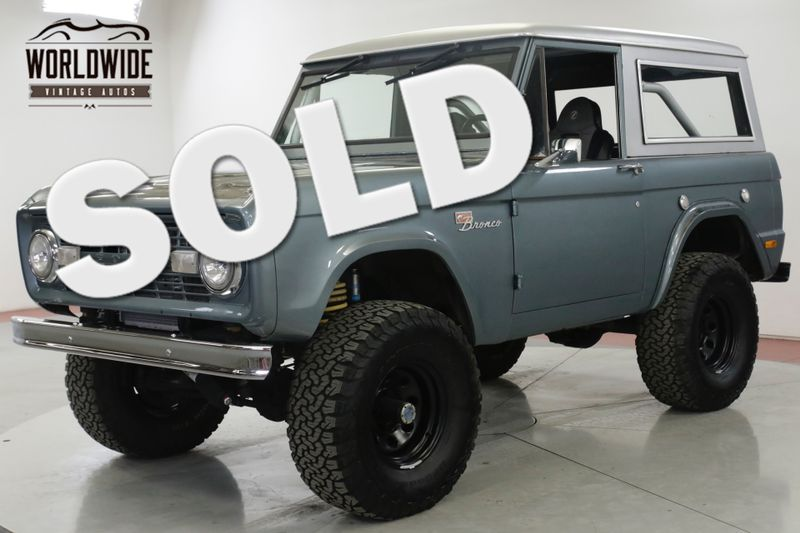1969 Ford BRONCO SPORT 5.0L FUEL INJECTED V8 PS PB AUTO 4x4 | Denver, CO | Worldwide Vintage Autos