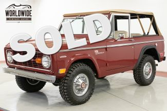1969 Ford BRONCO SPORT FRAME OFF RESTORATION $60K+ BUILD V8  | Denver, CO | Worldwide Vintage Autos in Denver CO