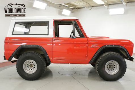 1969 Ford BRONCO  289 V8 3-SPEED 4X4 FRESH PAINT MUST SEE | Denver, CO | Worldwide Vintage Autos in Denver, CO
