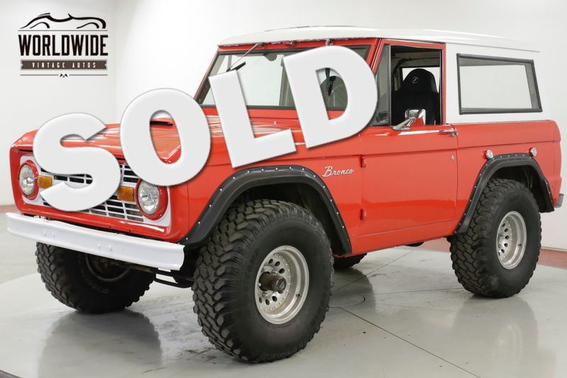 1969 Ford BRONCO  289 V8 3-SPEED 4X4 FRESH PAINT MUST SEE | Denver, CO | Worldwide Vintage Autos