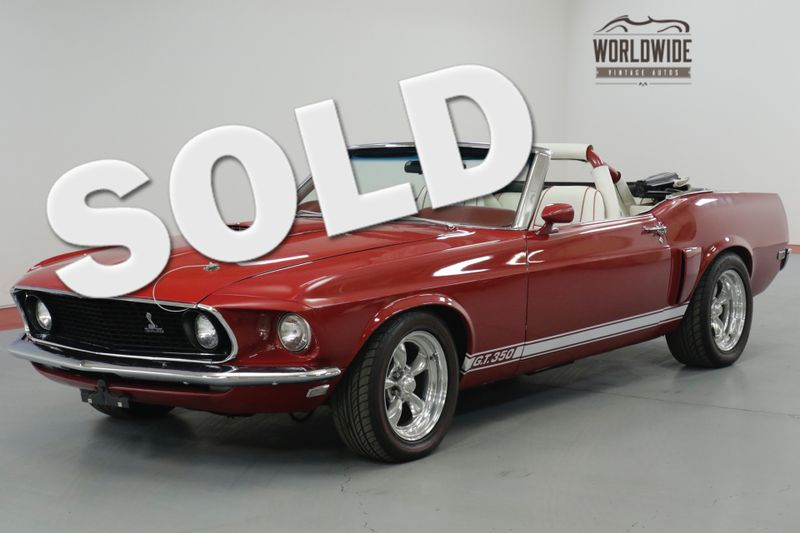 1969 Ford MUSTANG CONVERTIBLE COLLECTOR GRADE | Denver, CO | Worldwide Vintage Autos