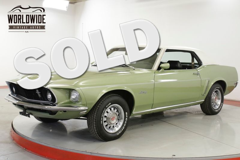 1969 Ford MUSTANG 428 V8 COBRAJET PB DISC | Denver, CO | Worldwide Vintage Autos