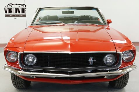 1969 Ford MUSTANG CONVERTIBLE 351 V8 3-SPEED MANUAL   Denver, CO   Worldwide Vintage Autos in Denver, CO