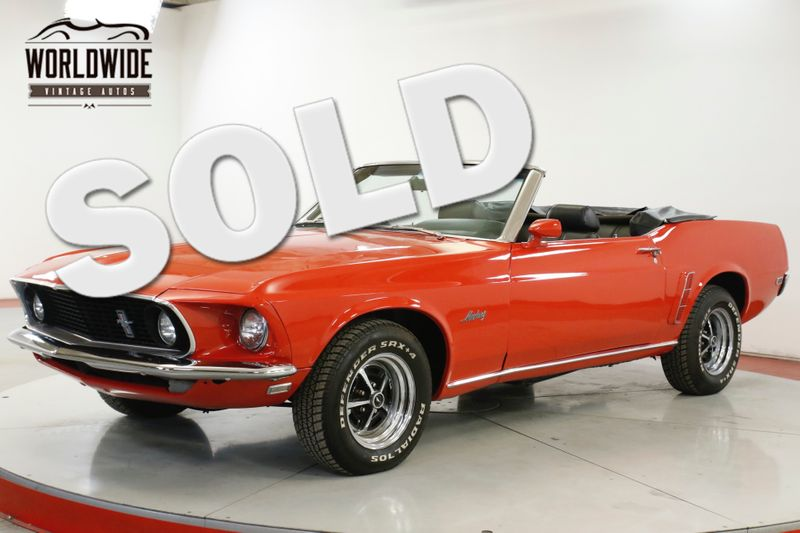 1969 Ford MUSTANG CONVERTIBLE 351 V8 3-SPEED MANUAL | Denver, CO | Worldwide Vintage Autos