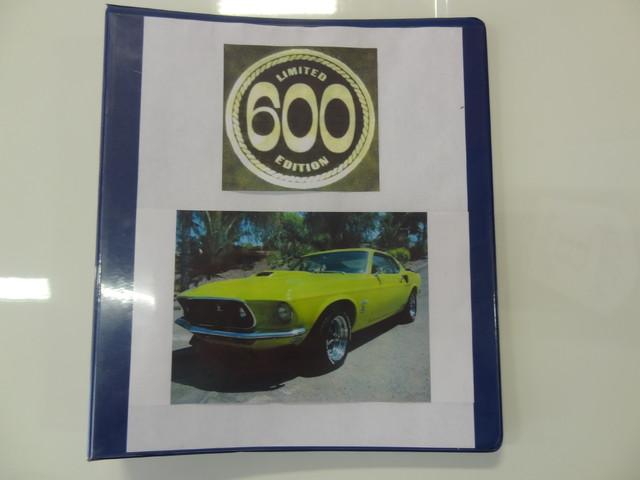 1969 Ford Mustang LE 600 La Jolla, Califorina  2
