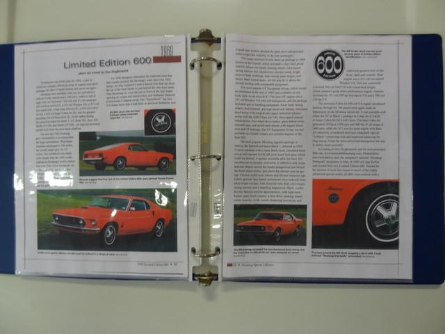 1969 Ford Mustang LE 600 La Jolla, Califorina  7