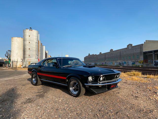 "1969 Ford Mustang Mach 1 ""R"" Code CJ 428"