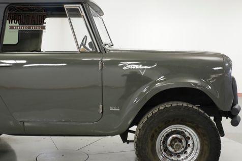 1969 International SCOUT 800 304 V8 3-SPEED 4X4 CONVERTIBLE TOP  | Denver, CO | Worldwide Vintage Autos in Denver, CO