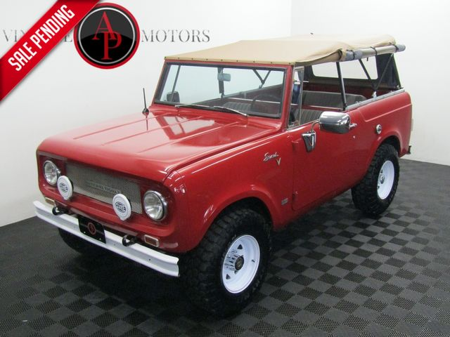 1969 International Scout 800 RARE V8 DUAL TANK 4X4 in Statesville, NC 28677