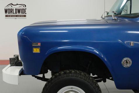 1969 International TRUCK  HARVESTER TRUCK 1200D. FRAME OFF RESTORED!  | Denver, CO | Worldwide Vintage Autos in Denver, CO