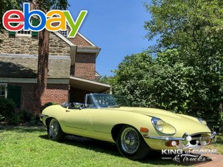 1969 Jaguar Xke Convertible SERIES ll ORIGINAL SURVIVOR 'S MATCHING in Woodbury, New Jersey 08096