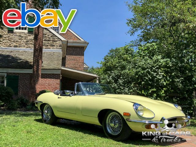 1969 Jaguar Xke Convertible SERIES ll ORIGINAL SURVIVOR 'S MATCHING