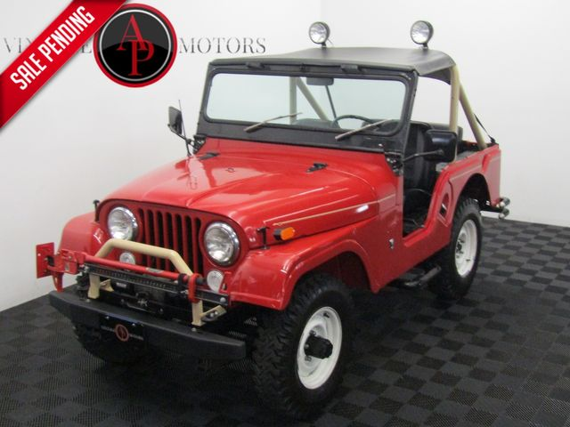 1969 Jeep CJ5 BUILT SHOW JEEP