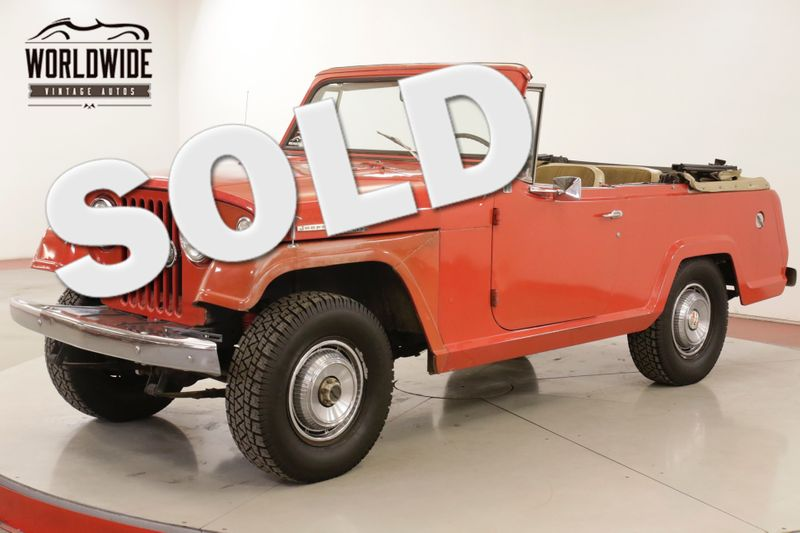 1969 Jeep COMMANDO  JEEPSTER ULTRA RARE 8702! 1 OF 280 4x4 | Denver, CO | Worldwide Vintage Autos