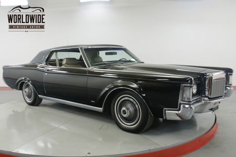 1969 Lincoln CONTINENTAL COUPE CA CAR TIME CAPSULE RARE 460 V8 AC   Denver, CO   Worldwide Vintage Autos in Denver, CO