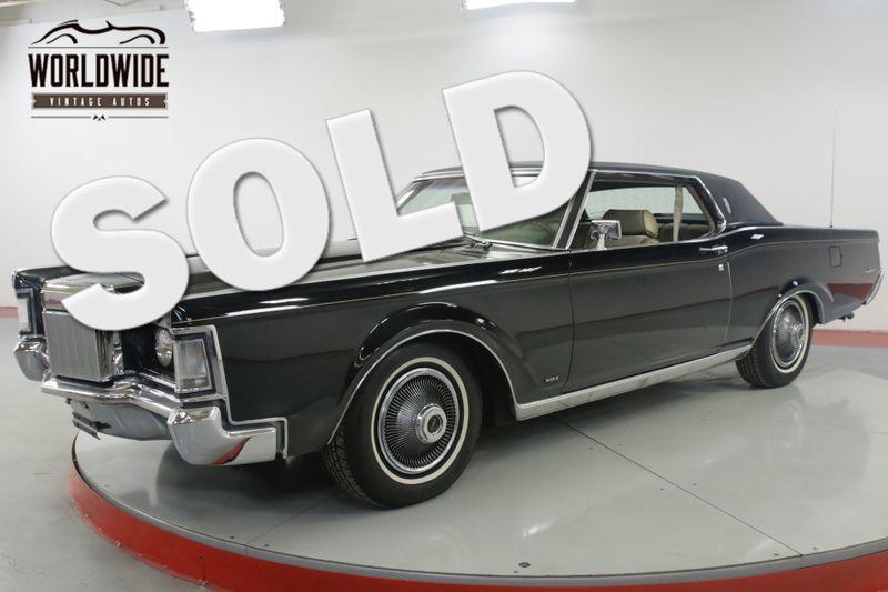 1969 Lincoln CONTINENTAL COUPE CA CAR TIME CAPSULE RARE 460 V8 AC   Denver, CO   Worldwide Vintage Autos