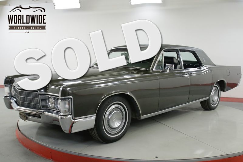 1969 Lincoln CONTINENTAL  SUICIDE DOORS V8 POWER EVERYTHING MUST SEE | Denver, CO | Worldwide Vintage Autos