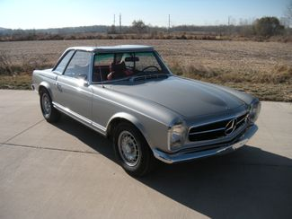 1969 Mercedes Benz 280SL PAGODA CONVERTIBLE Chesterfield, Missouri 6