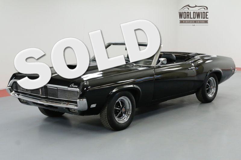 1969 Mercury COUGAR TRIPLE BLACK HIDE AWAY HEADLIGHTS AC V8 | Denver, CO | Worldwide Vintage Autos