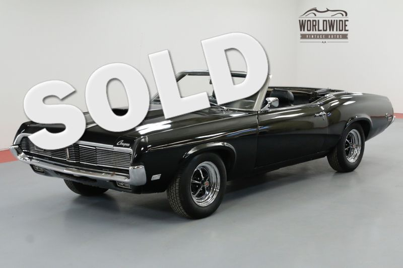1969 Mercury COUGAR TRIPLE BLACK HIDE AWAY HEADLIGHTS AC V8 | Denver, CO | Worldwide Vintage Autos