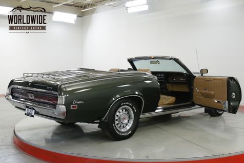1969 Mercury COUGAR  XR7 CONVERTIBLE XLT 351 V8 WINDSOR PS PB | Denver, CO | Worldwide Vintage Autos in Denver, CO