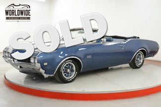 1969 Oldsmobile 442 CONVERTIBLE 400 AUTO FACTORY AIR PS PB  | Denver, CO | Worldwide Vintage Autos in Denver CO