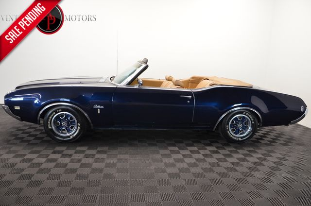 1969 Oldsmobile CUTLASS S V8 CONVERTIBLE AUTO AC PS