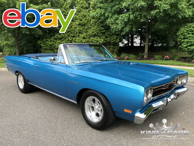 1969 Plymouth Sport Satellite CONVERTIBLE FRAME OFF RESTO 383 V8 A/C