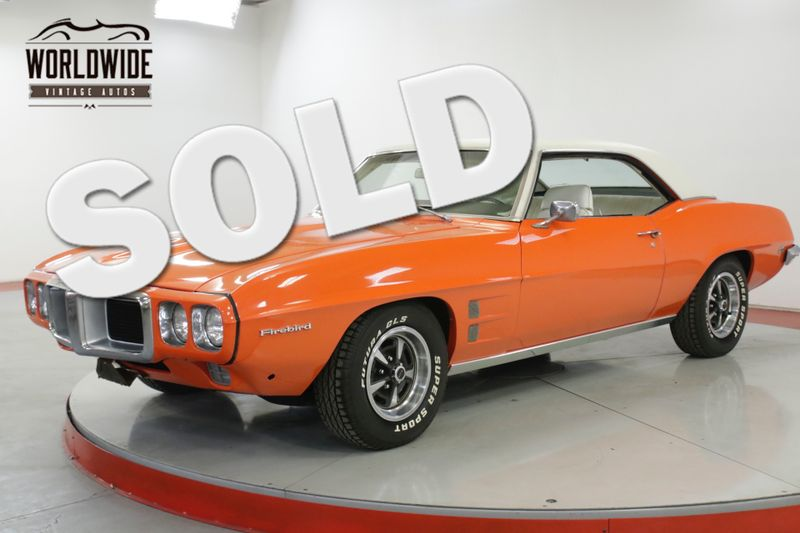1969 Pontiac FIREBIRD 350 V8 AUTO PS PB FRESH PAINT MUST SEE | Denver, CO | Worldwide Vintage Autos
