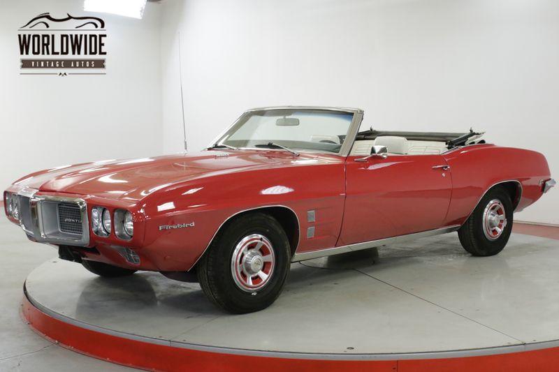 1969 Pontiac FIREBIRD  350V8 AUTO POWER STEERING SUMMER FUN!   Denver, CO   Worldwide Vintage Autos