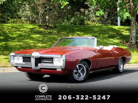 1969 Pontiac LeMans Convertible 400 V8 360HP GTO Powered Sleeper Stunning Restoration Must See! in Seattle