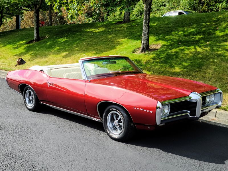 1969 Pontiac LeMans Convertible 400 V8 360HP GTO Powered Sleeper Stunning Restoration Must See  city Washington  Complete Automotive  in Seattle, Washington