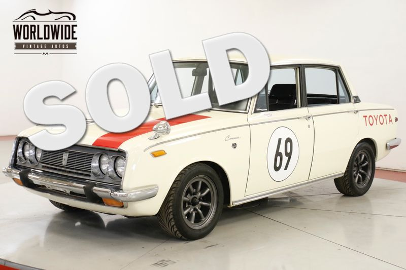 1969 Toyota CORONA  RARE JAPANESE COLLECTOR RACE WHEELS/MIRRORS  | Denver, CO | Worldwide Vintage Autos
