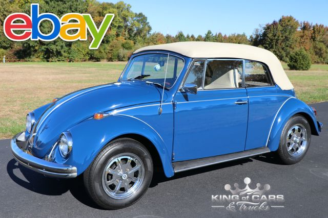 1969 Volkswagen Beetle Convertible RESTORED STUNNING COLOR COMBO MINT